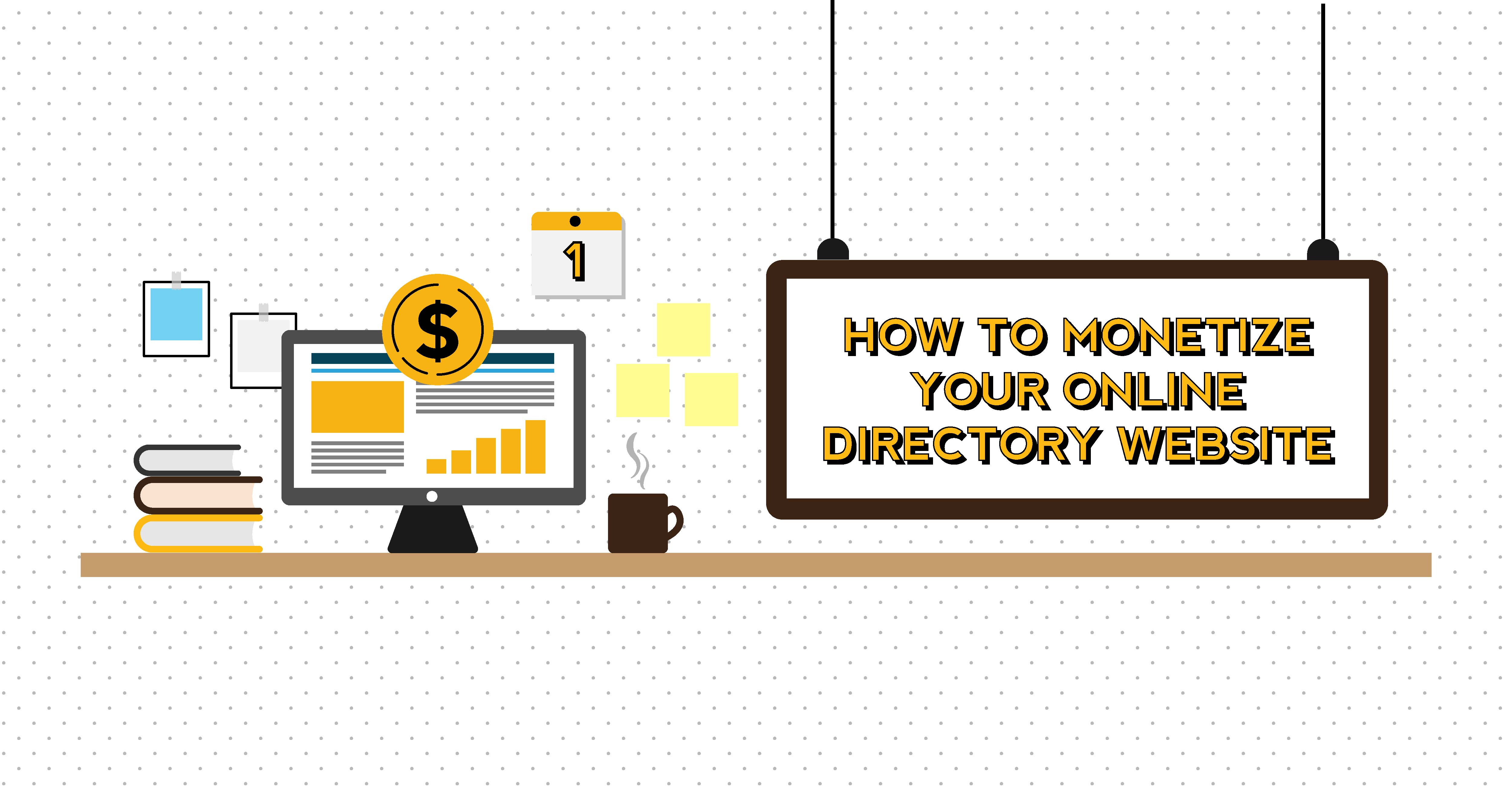 How to Monetize Your Online Directory Website
